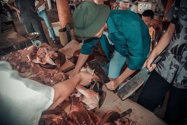Quán thịt lợn ngày xưa