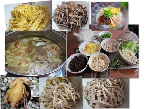 Bún Thang Hàng Trống lúc nào cũng tấp nập người ăn