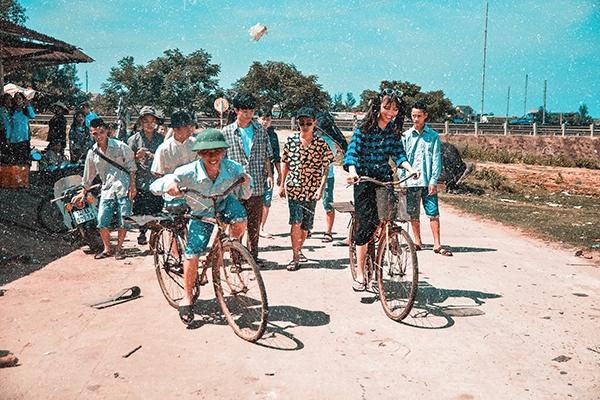 Hình ảnh những chiếc xe đạp thống nhất quen thuộc ngày nào