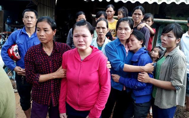 vụ sạt lở ở hòa bình, sạt lở ở hòa bình, bỗng nhiên mất cả gia đình