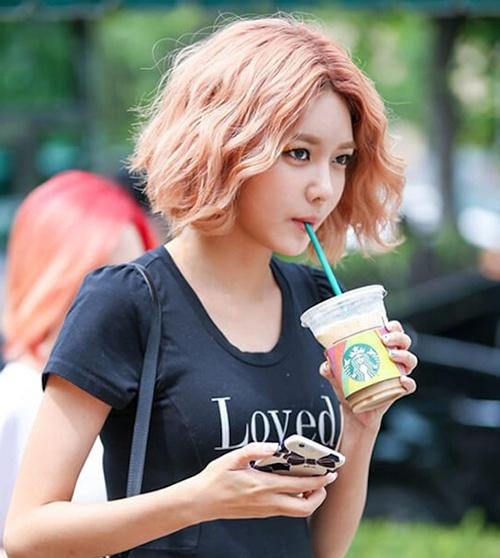 tóc ngắn đón tết như những idol hàn quốc