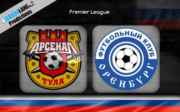 Nhận định Orenburg vs Arsenal Tula