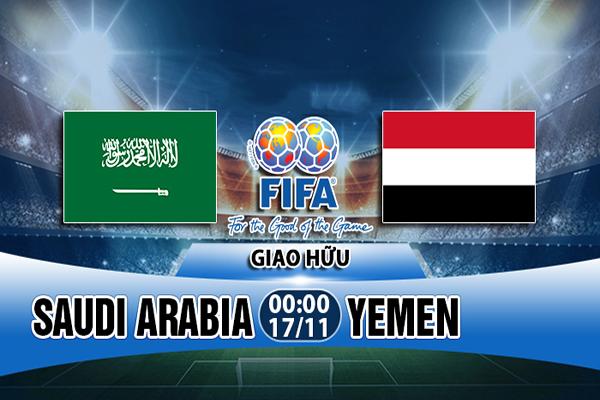 Nhận định Saudi Arabia vs Yemen