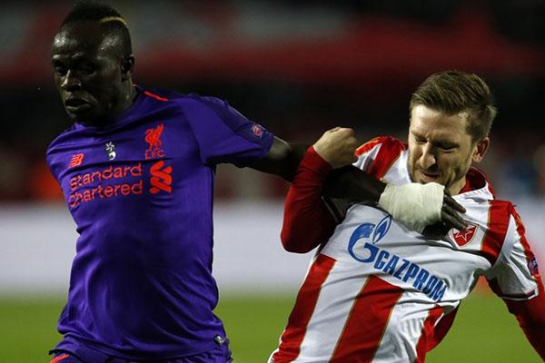 Liverpool nguy cơ bị loại ở cúp c1