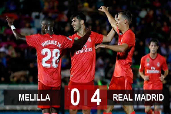 Melilla 0-4 Real Madrid