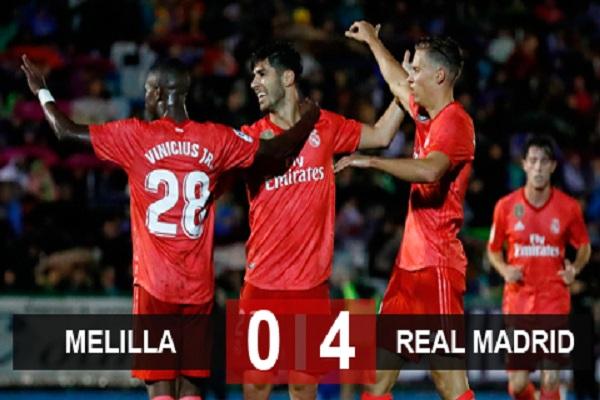 Melilla 0-4 Real Madrid