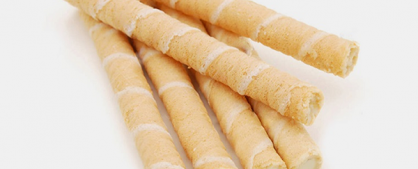 Bánh quế- đặc sản Ba Vì làm từ sữa tươi