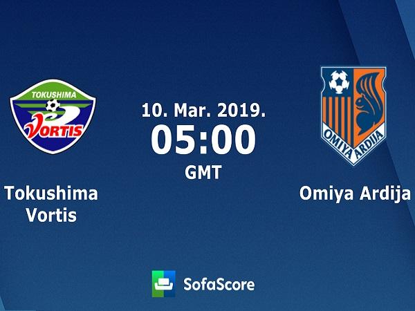 Nhận định Tokushima Vortis vs Omiya Ardija, 12h ngày 10/03
