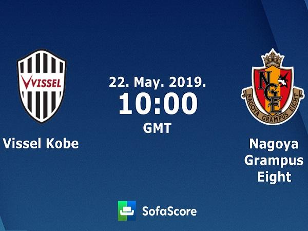 Nhận định Vissel Kobe vs Nagoya Grampus, 17h00 ngày 22/05