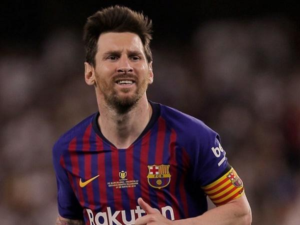 Messi tiếp tục lỡ trận gặp Valencia