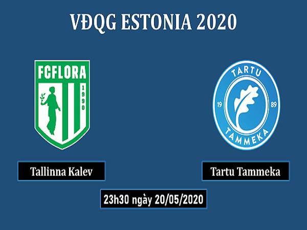Soi kèo Flora Tallinn vs Tartu JK, 23h30 ngày 20/05