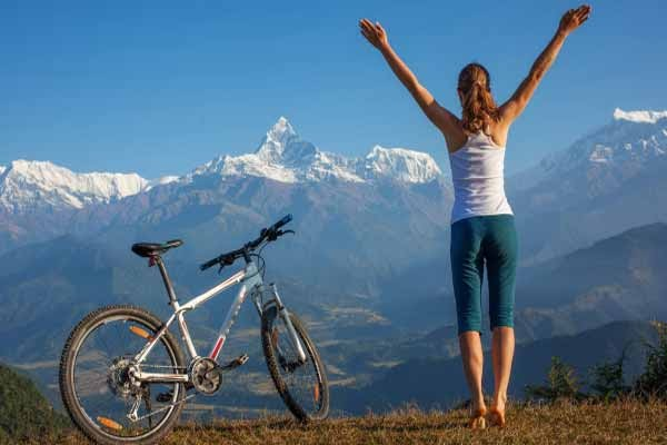 Đạp xe giúp giảm stress cực hữu hiệu
