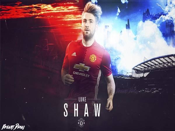 Tiểu sử Luke Shaw - Hậu vệ cánh trái của Man United
