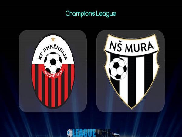 Nhận định Shkendija vs Mura – 01h00 07/07/2021, Cúp C1 châu Âu